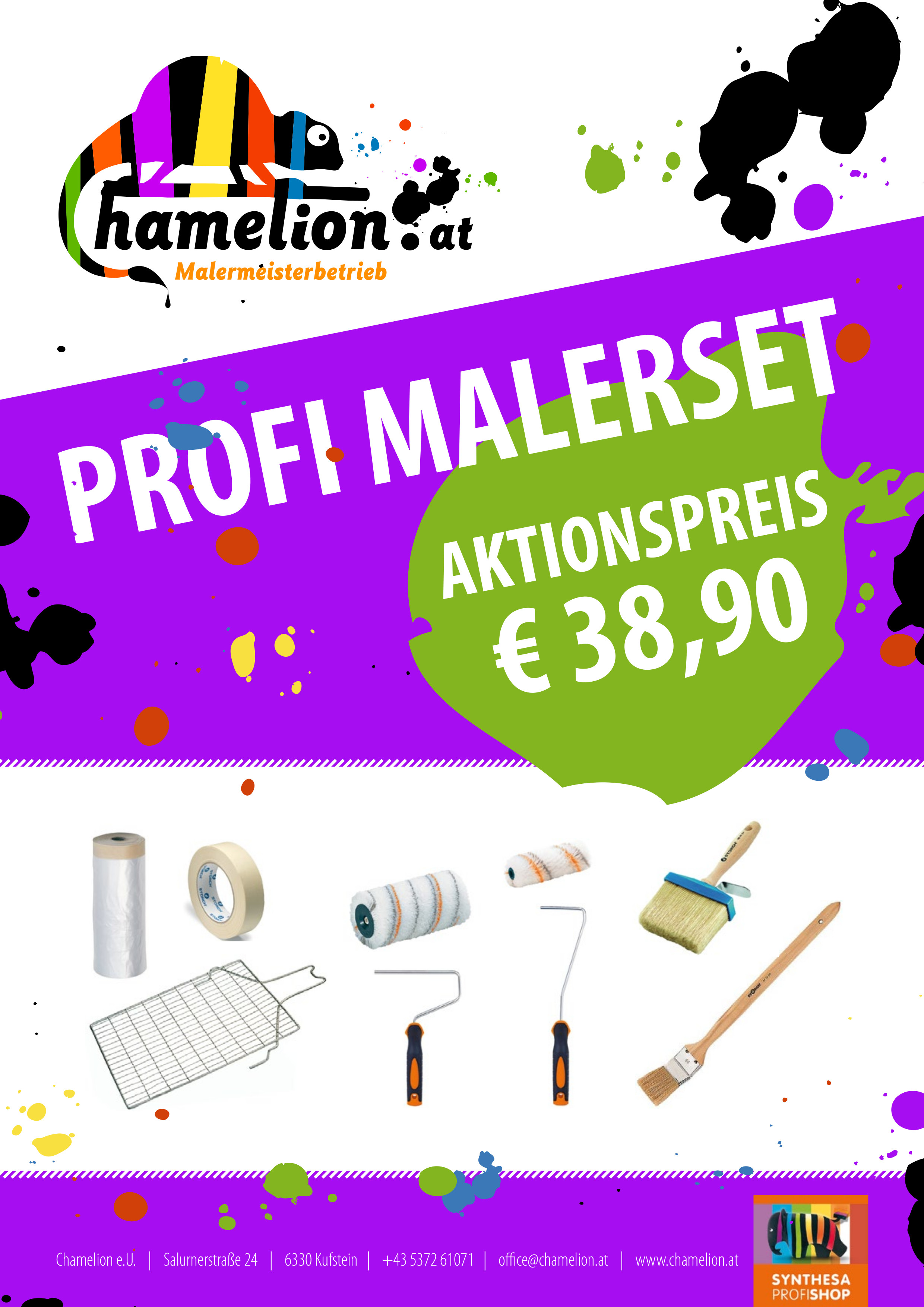 Aktion Profi Malerset