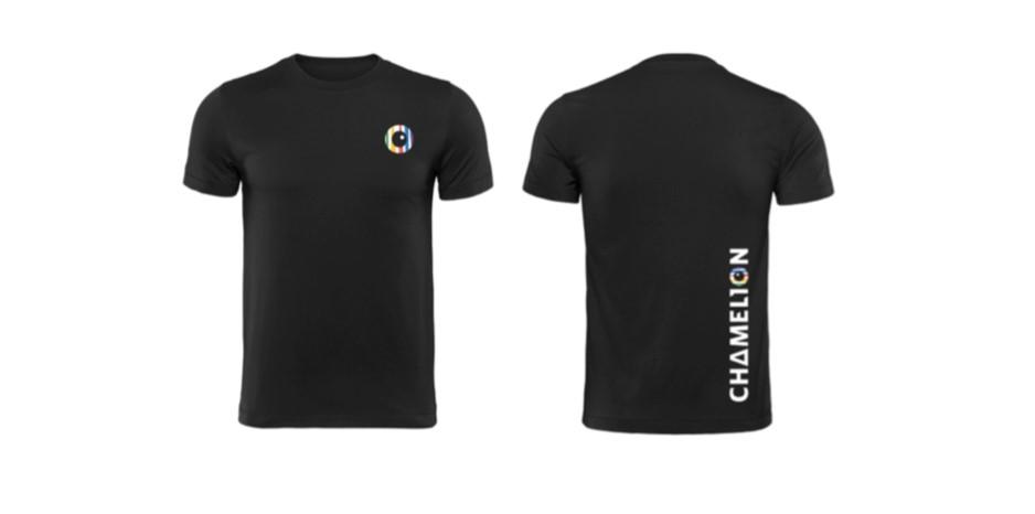 T-Shirt Chamelion black