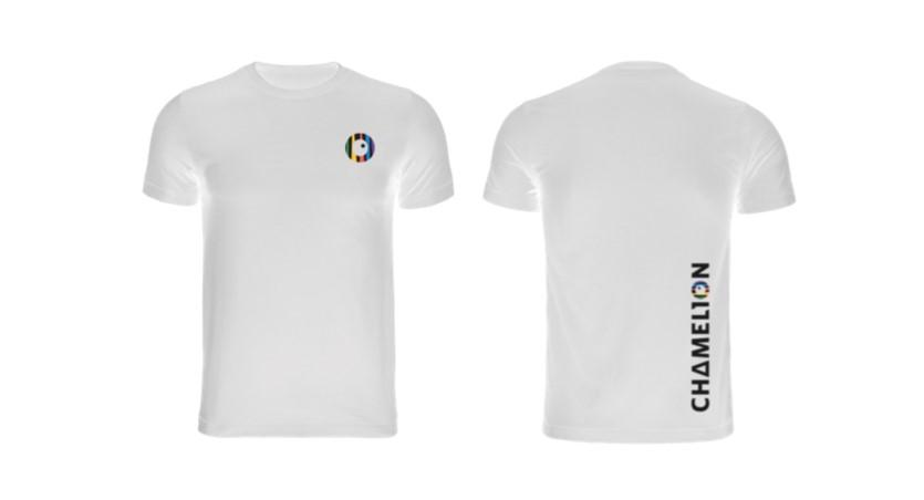 T-Shirt Chamelion white